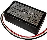 Aerzetix - Filtro antidisturbo del rumore motore 20A 12V per autoradio .