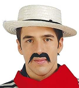 Canotier de Venise gondolier chapeau paille