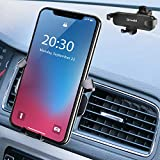 Drivaid Supporto Auto Smartphone, gravità Universale Ventilazione Porta Cellulare Auto con 360 Gradi di Rotazione, Porta Telefono Auto per Telefoni iPhone, Samsung, Huawei, e GPS Dispositivi