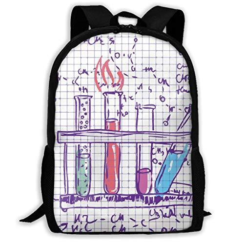Schule Science Labs (Deglogse Schulrucksack, Schultasche Travel Bookbag, Science Chemistry Lab Print Custom Unique Casual Backpack School Bag Travel Daypack Gift)