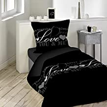 couette imprim e 1 personne. Black Bedroom Furniture Sets. Home Design Ideas