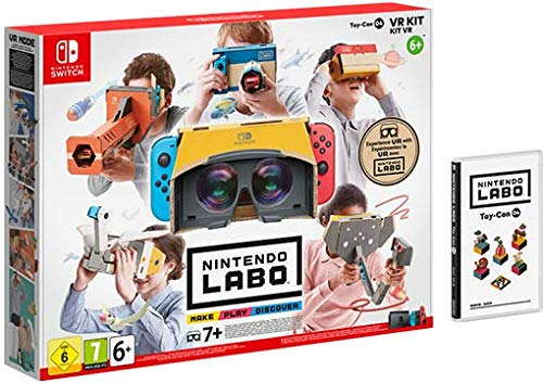 SWITCH Nintendo LABO: Kit de VR (set completo)