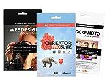 Das große Grafikdesign Vorlagenpaket: Flyer, Banner, Broschüren. Mit tausenden Vorlagen zum perfekten Design. Neu! Inklusive Stockphoto Agentur PRO mit 2500 lizenzfreien Bildern für perfekte Designs