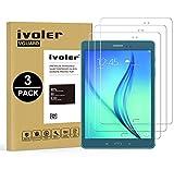 iVoler [3 Pack] Vetro Temperato Compatibile con Samsung Galaxy Tab A 9.7 Pollici (T550 / T555), Pellicola Protettiva, Protezione per Schermo