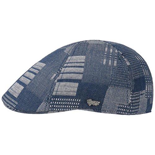 casquette-texas-denim-patchwork-stetson-bonnet-type-gavroche-casquette-masculine-m-56-57-denim
