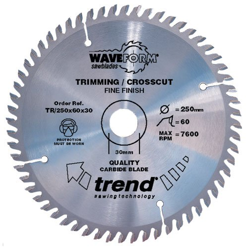 TREND TR/230X48X30 SAW BLADE TRIMMING 230MM X 48 TEETH X 30MM