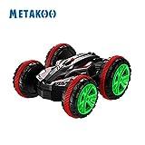 Metakoo RC Auto ferngesteuertes Auto Stunt amphibische Wiederaufladbares Spielzeug 20km/h Spieldauer 15 min Flips Land & Wasser Elektrische Rennwagen