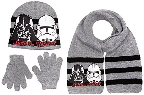 Disney Star Wars, Bonnet Garçon Gris - Grey (L Grey)