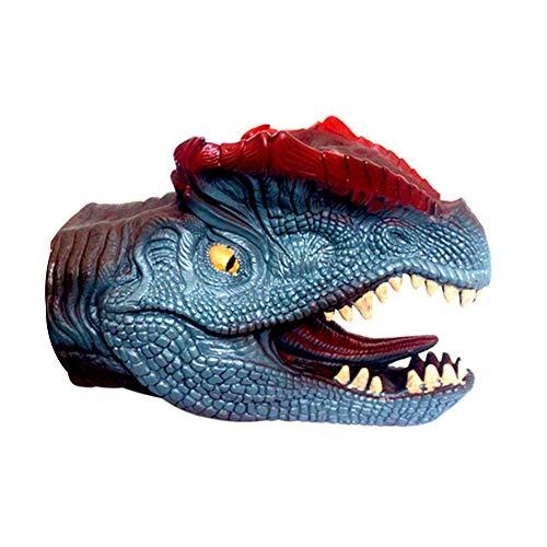 Handpuppe Tier-Säuglingskinder Handpuppe Big Mouth Tierspielzeug T-Rex Handschuhe Figur Modell Spielzeug-Kind-Geschenk (blau Dinosaurier) Sehr erschwinglich und dauerhaft von Gag Spielzeug-Parodie (Spielzeug Dinosaurier Big)