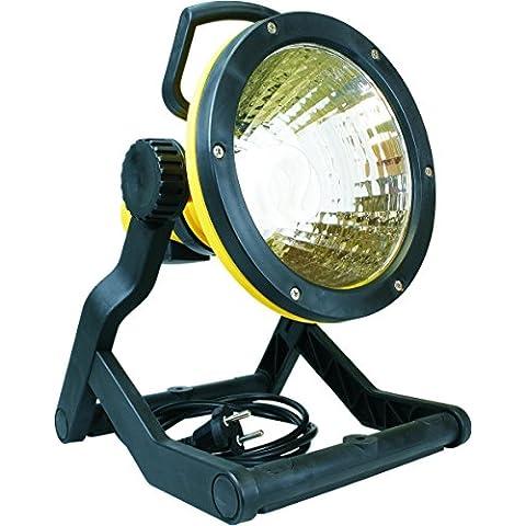 Smartwares 10.047.21 - Ahorro de energía luz de trabajo soporte exterior que incluye cable y enchufe