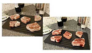 Good Ideas Miracle Thaw Defrost Tray (881) Easy Thaw tray defrost food quickly and safely