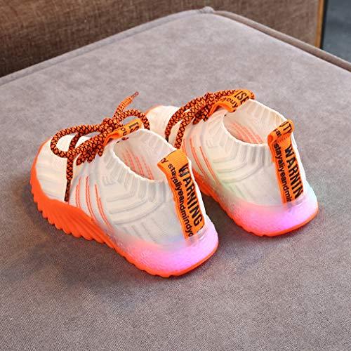 Zoom IMG-3 byeeet scarpe bambino led sportive