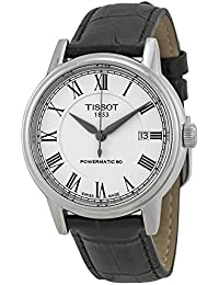 amazon co uk tissot watches tissot carson leather automatic mens watch