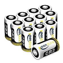 Keenstone 12 Piles CR2, CR15H270 Batterie Lithium 3V 850mAh Haute Performance / Faible Auto-décharge /Densité d'énergie élevée avec PTC protégé pour Lampe torch Appareil photo numérique Caméscope etc.