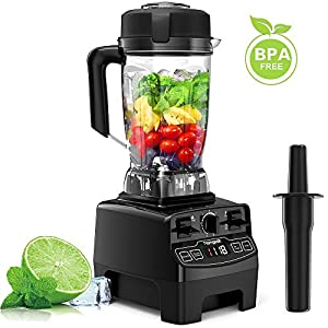 Standmixer Smoothie Maker, homgeek 2000W Smoothie Blender, Standmixer...