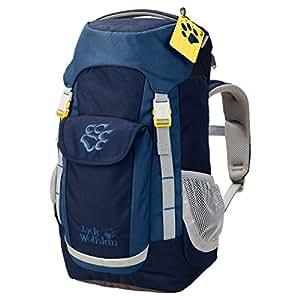 Jack Wolfskin Kinder Kids Explorer Wandern Outdoor Trekking Rucksack, Midnight Blue, 47x25x19 cm