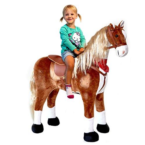mein hobby pferde xxl pl schpferd 105cm elsa das riesige reitpferd f r kinder ein tolles. Black Bedroom Furniture Sets. Home Design Ideas