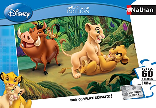 nathan-86558-childrens-puzzle-60-pieces-lion-king-and-friends