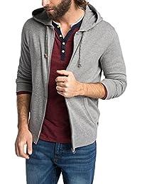 Esprit 995ee2j901 - Jacket With Hoodie - Regular Fit - Sweat-shirt - Homme