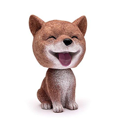 Auto Niedlich Nicken Hund Ornament Komisch Schütteln Kopf Lächelnd Hund Auto Zuhause Dekor