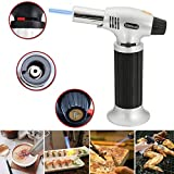 #10: LussoLiv Windproof Creme Brulee Culinary Butane Refillable cook Torch Jet Flame Lighter
