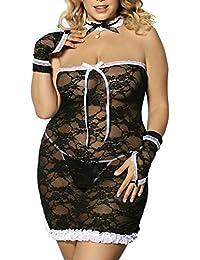 Costume sexy grande taille de servante femme de chambre