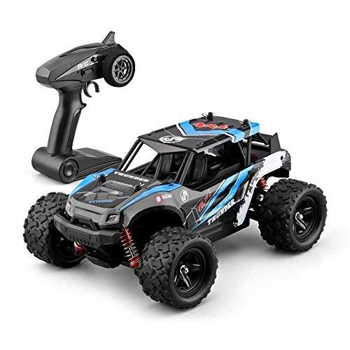 Mopoq RC Warhammer High Speed   50 km/h 4x4 RTR Schnelle Rennwagen 1:18 Geländetreiben/Stunts Auto 4WD Elektro Buggy 2.4G Funkfernbedienung Geländewagen Desert Rock Crawler Monster Truck Boy Gesch