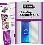 dipos I 2X Schutzfolie klar passend für Alcatel 5V Folie Bildschirmschutzfolie