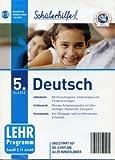Schülerhilfe! ~ Deutsch ~ Klasse 5. ~ Die interaktive Lernsoftware für bessere Zeugnisnoten! ~ Abgestimmt auf die Lehrpläne aller Bundesländer [CD-ROM]