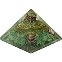 HARMONIZE Aventurine Stein Herz-Chakra-Pyramide Orgon Spiritual Reiki Kristall-Energie-Generator preisvergleich bei billige-tabletten.eu