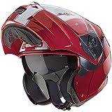 Caberg Duke Legend Flip Front Motorcycle Helmet L Red White