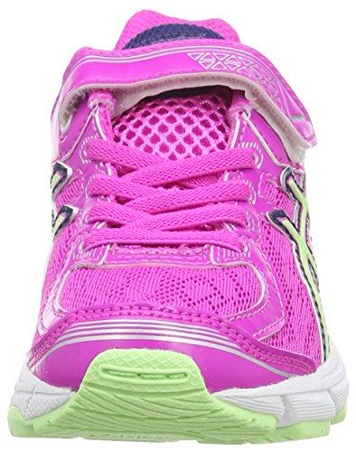 Asics Gt-1000 4 Ps, Chaussures de Running Entrainement Mixte enfant Rose (Pink Glow/Pistachio/Indigo Blue 3587)