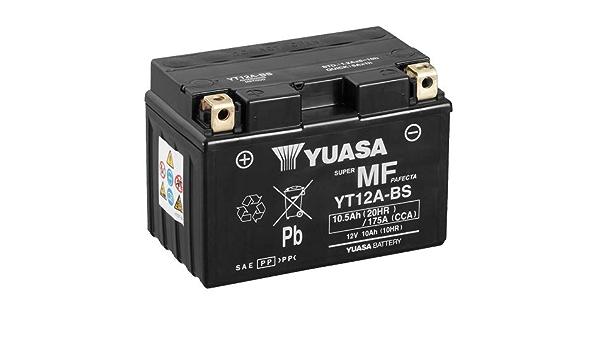 Batterie Yuasa Yt12a Bs Wc Agm Geschlossen 12v 10ah Cca 175a 150x87x105mm Für Kawasaki Z1000 Sx Abs Baujahr 2016 Auto