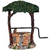 Wonderland Miniature Fairy Garden Ivy Wishing Well (5.25 Inches) For Planter Decoration, Bonsai, Terrarium, Garden Decor, Mini, Miniatures, Tray Garden, Doll House, Kids Room Decor, Gift, Home Decoration Item