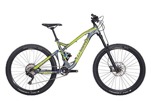 Whistle Bici Dakota 1721 27.5'' 11-Velocità taglia 43 grigio/giallo 2018 (MTB Biammortizzate) / Bike Dakota 1721 27.5'' 11-Speed size 43 grey/yellow 2018 (MTB Full suspension)