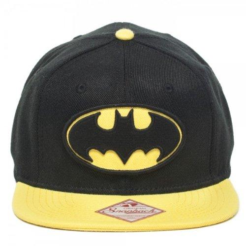 Gorra de béisbol diseño de Batman-Logo para hombre negro gorra