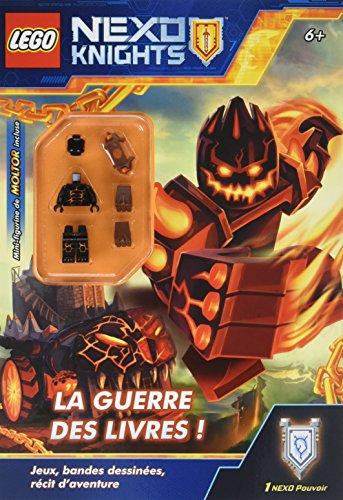 Lego Nexo Knights : La guerre des livres - Avec une mini-figurine de Molitor