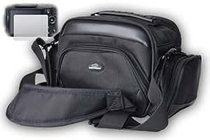 Esperanza 150, Kameratasche incl. Displayschutzfolie für Panasonic Lumix DMC-FZ150