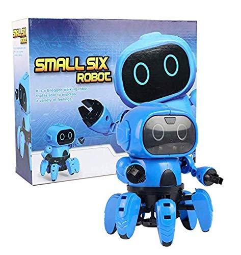 Elektro-Roboter-Spielzeug, DIY montieren Bausätze, Science Explorer Lernspielzeug Intelligente Kits für Jungen Kinder Geschenk, Smart Tracking Senses Gestensteuerung Gehen Smart Interactive Robot-963 (Roboter-diy)