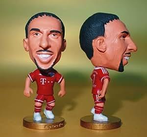 Franck Ribery #7 - FC Bayern Munchen 2013 / 2014 Football Figurine Soccer Figure Doll - Free Shipping!