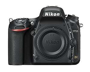 Nikon D750 Body Fotocamera Reflex Digitale, 24,3 Megapixel, SD 8 GB, 400x Lexar, Nero [Nital card: 4 anni di garanzia]