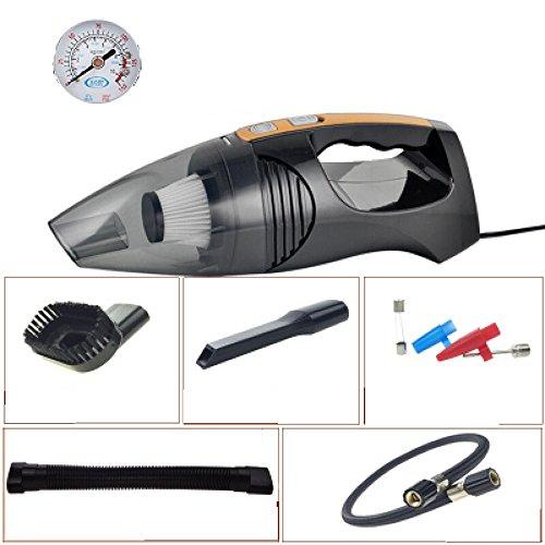 Greawei-Aspirador-de-coche-12V-Mini-porttil-120W-Alta-potencia-Succin-sper-hmedo-y-seco-Doble-uso-45M-Cable-de-alimentacin-Iluminacin-inflable-blanco-y-negro-Presin-de-neumticos-Presin-de-vaco-Color-N