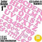 Buchstaben und Zahlen Packung von 122