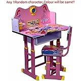 Ratna International Kid's Princess Character Study Table (Pink, rtpin2)
