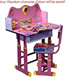 Ratna International Princess Character Study Table for Kids (Pink)