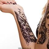 Temporäre Körperkunst entfernbares Tattoo - Uhr