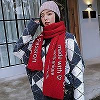 CXIGUA Meine Damen Schals Langen Winter Verdickung Warmen Gestrickten Halstücher Studenten