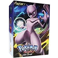 100/set Pokemon Playing GX EX Flash Card -M023