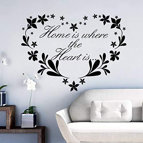 Liebe blumen Vinyl aufkleber Wasserdichte abnehmbare aufkleber schlafzimmer wohnzimmer wohnkultur pvc Generation wandaufkleber Generation Gehäuse
