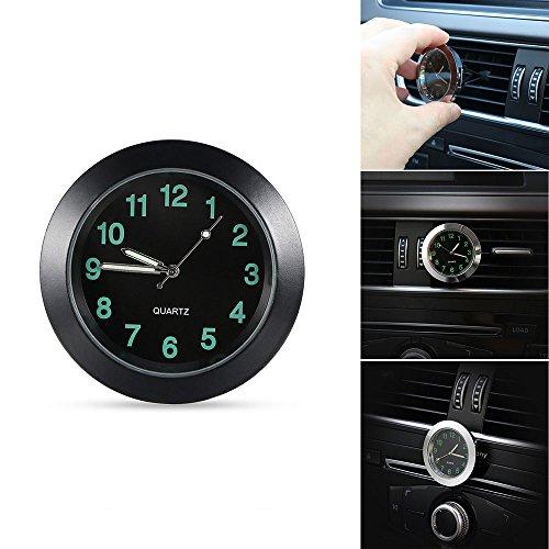 Preisvergleich Produktbild Auto Uhr Auto Air Vent Clip Uhr Automobil Leuchtende Armaturenbrett Uhr Auto Innen Quarz Analog